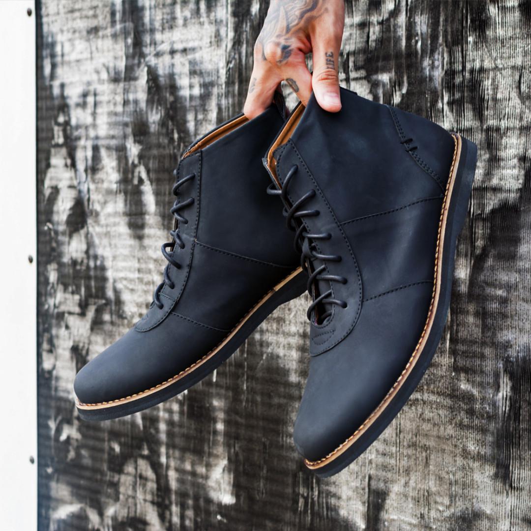 Alpha Black - Footstep Footwear  1ece090720
