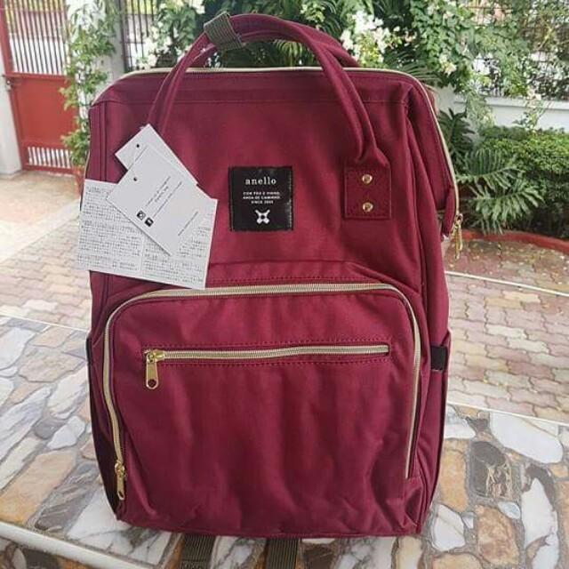 Anello Diaper Bag / Nursery Bag