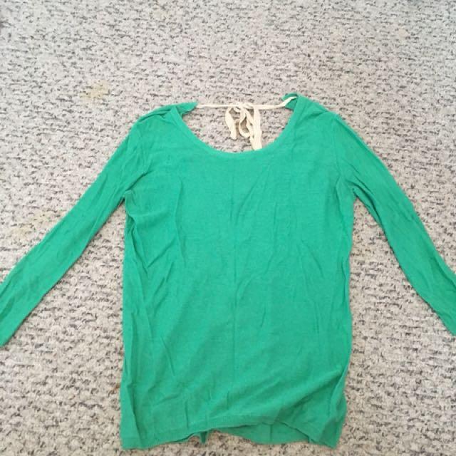 Aritizia low back sweater