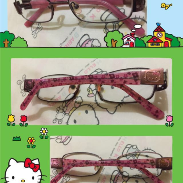 Authentic hello kitty eyeglass