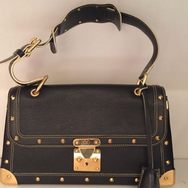 d148fc636 Authentic LV SUHALI Hand bag with Gold Hardware, Luxury, Bags ...