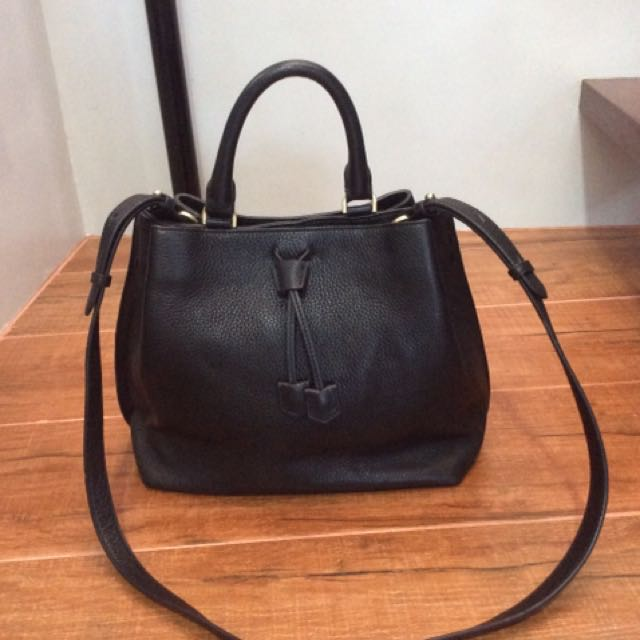 Authentic Morgan de toi 2 way satchel