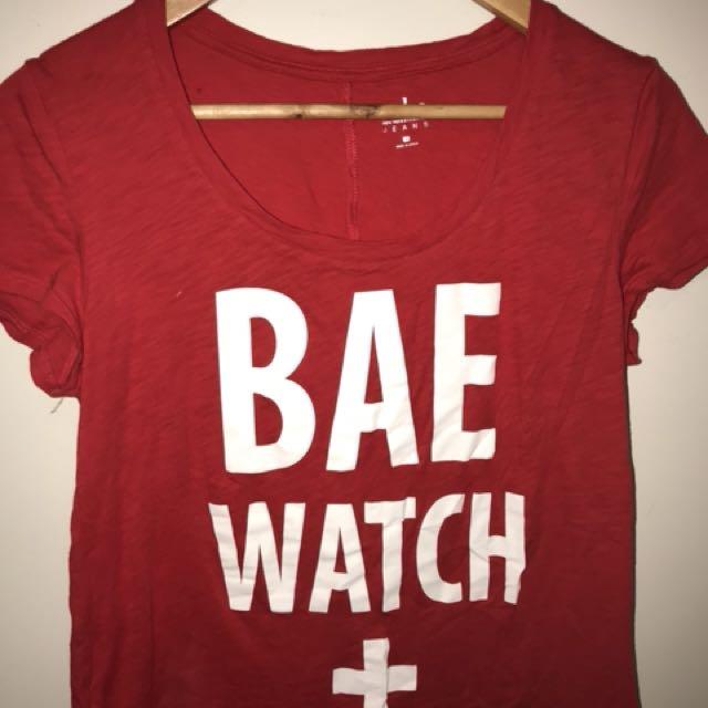 Bae Watch Tee