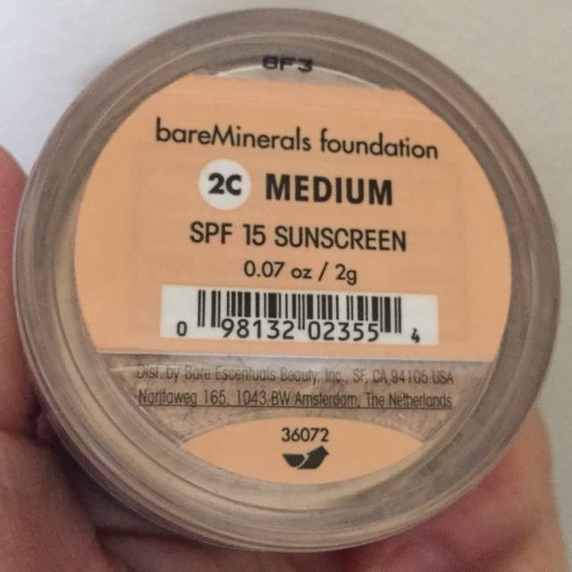 Bare Minerals Mineral Powder Foundation SPF 15