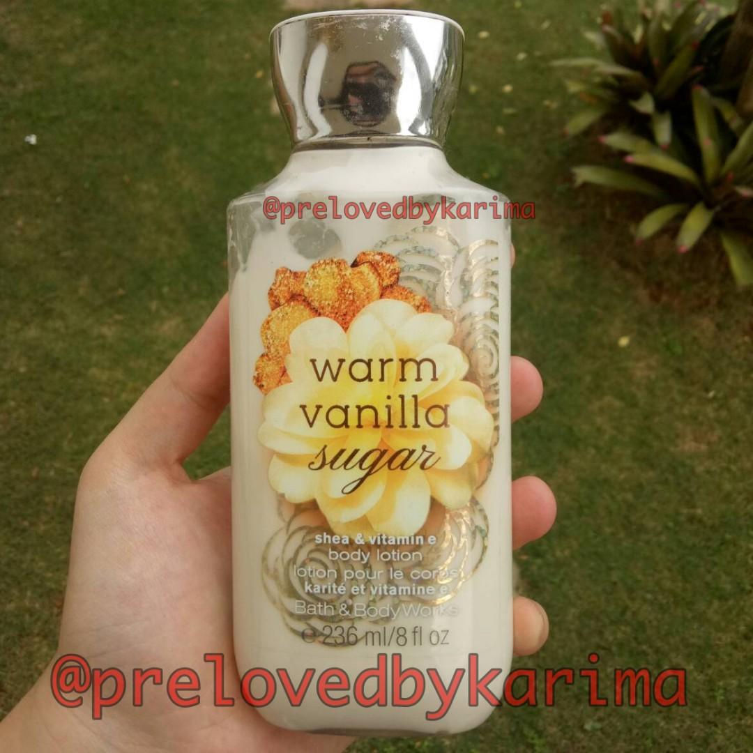Bath & Body Works Body Lotion - Warm Vanilla Sugar