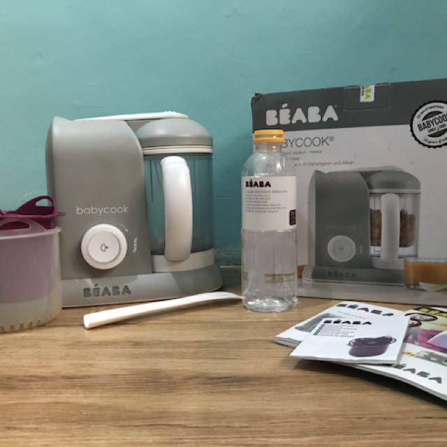 Beaba baby cook solo - grey