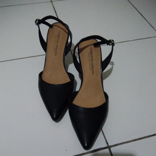 Black heels payless