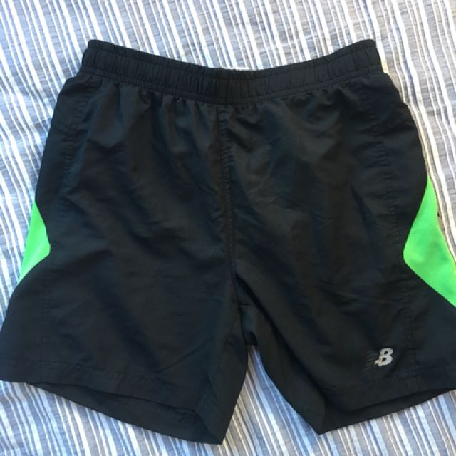 Black New Balance Shorts