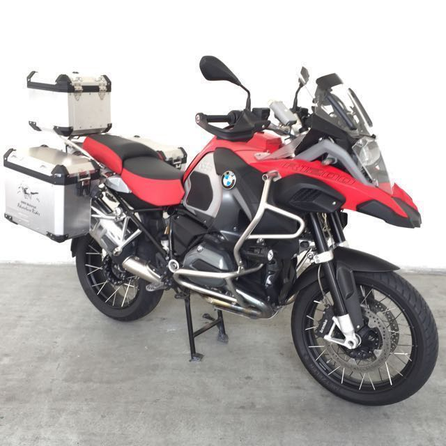 Bmw R1200gs Adventure Racing Red Matte Color Bike With Pml Local