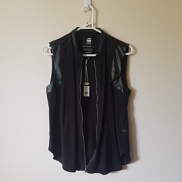 BNWT - G-Star Raw sleeveless top size small