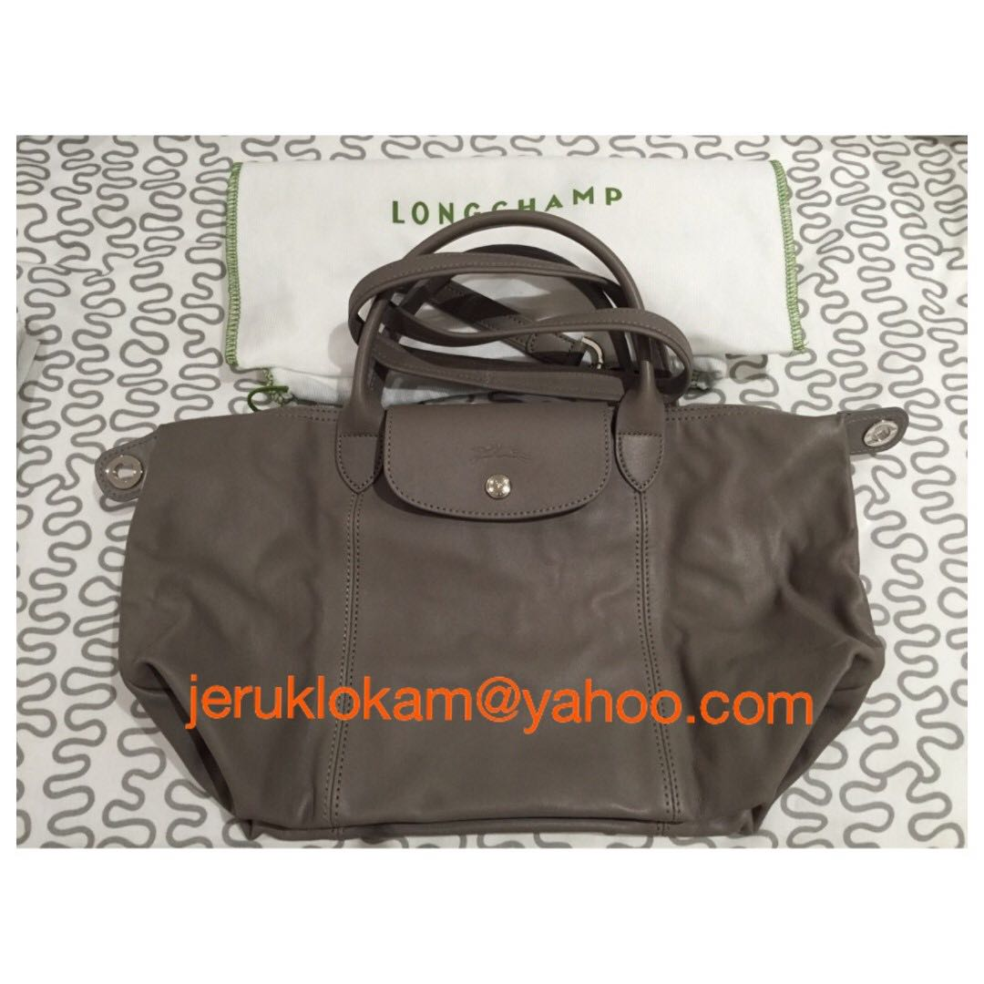 aeb5215f5ea4 Brand NEW Longchamp Le Pliage Cuir - Made in France