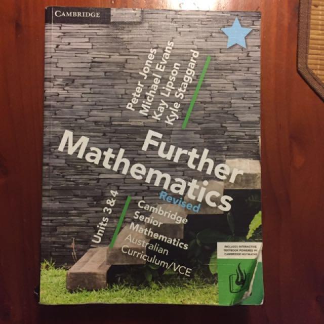 Cambridge VCE Further math units 3&4