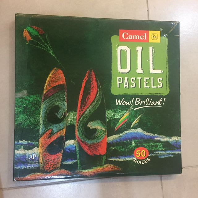 Camel Oil Pastels 50 Shades
