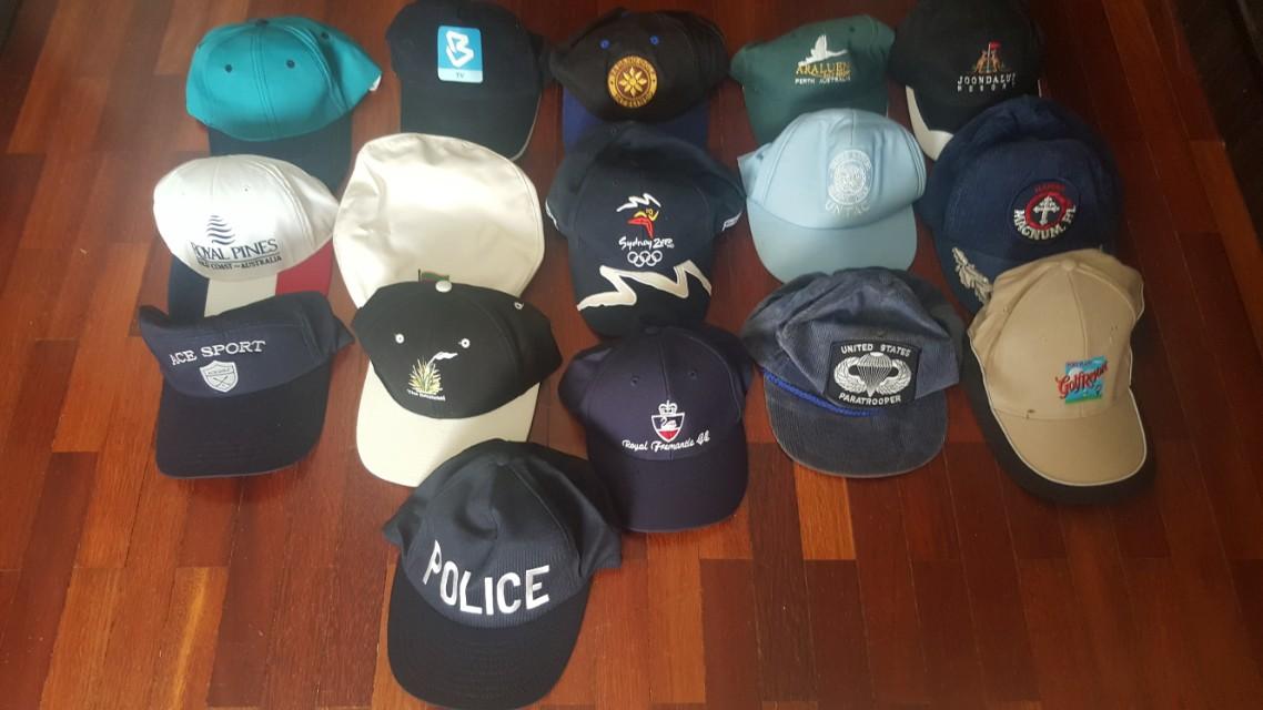 75e003bcf Caps. Multiple Caps and Flatcap
