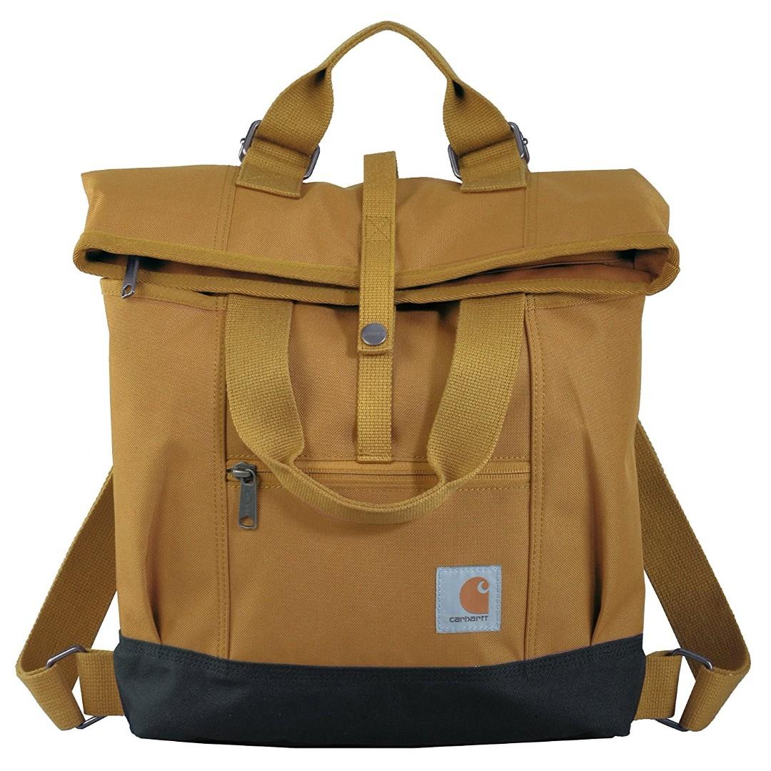 27e3263b5b7c0 Carhartt Women's Hybrid Convertible Backpack Tote Bag Rucksack ...
