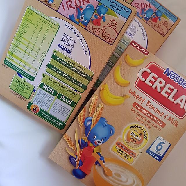 Cerelac (wheat banana&milk)