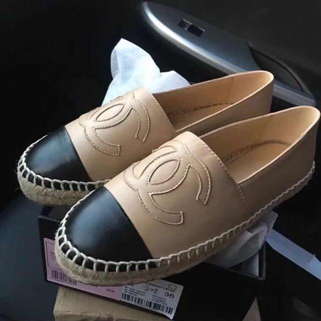 Chanel espadrilles highest quality