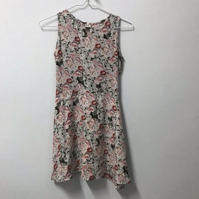 Colorbox flower dress