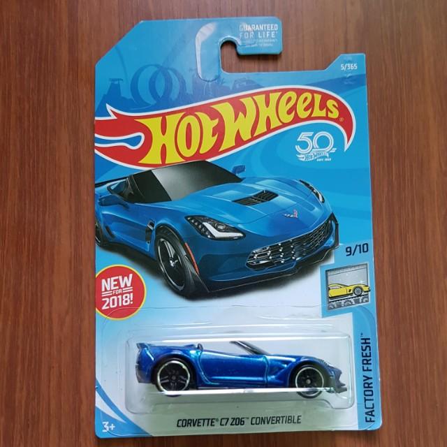 Corvette C7 Z06 Convertible Hotwheels