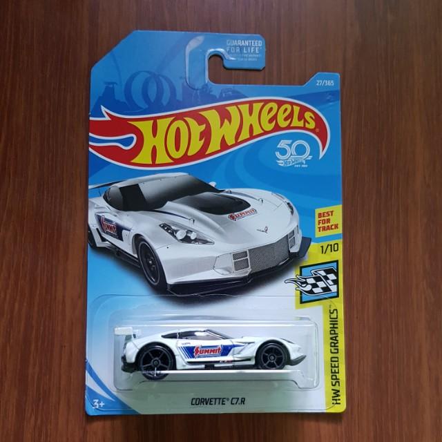 Corvette C7-R Hotwheels US Card