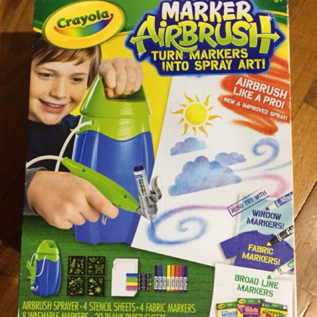 Crayola Airbrush kit