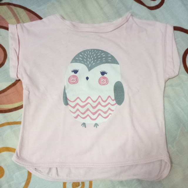 Cropped shirts for kids
