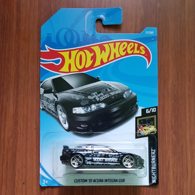 Custom '01 Acura Integra GSR Hotwheels