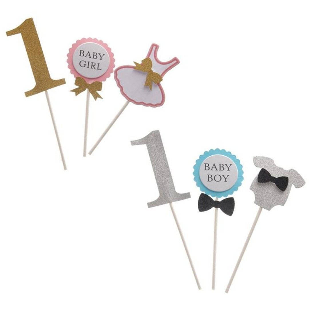 Cute 1st Birthday Cake Toppers Babies Kids On Carousell