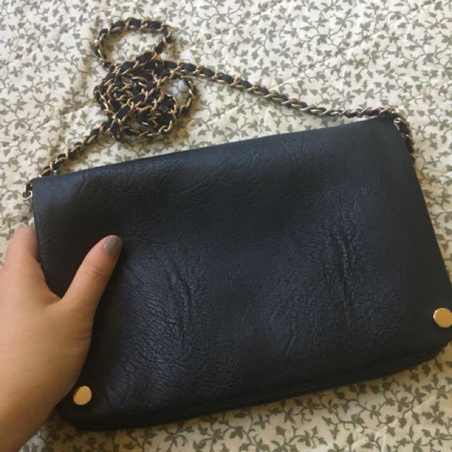Cute black purse bag 🐻
