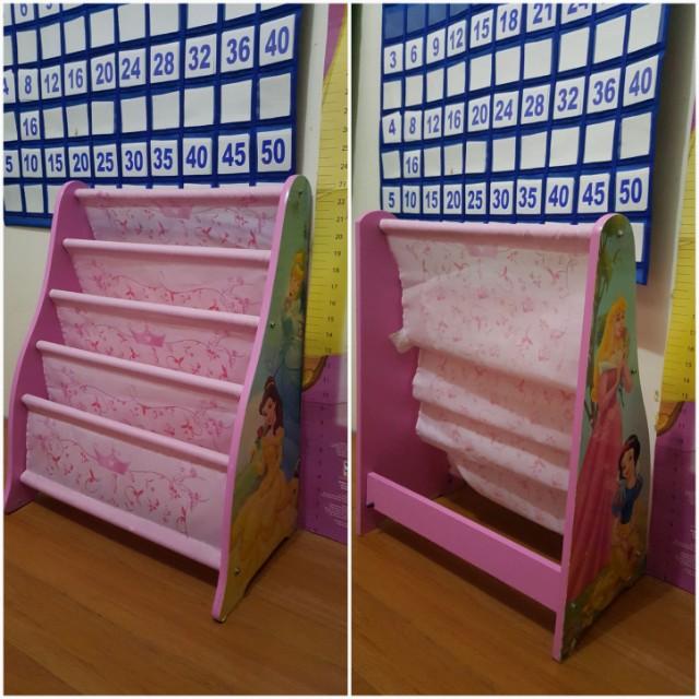 Disney Princess Bookshelf Babies Kids Others On Carousell