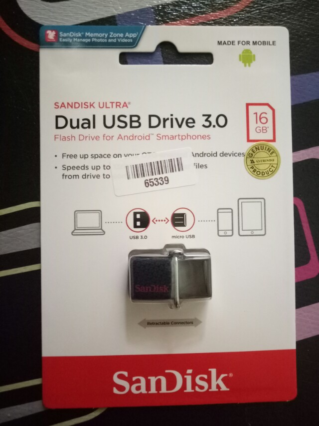 Flash disk OTG sandisk