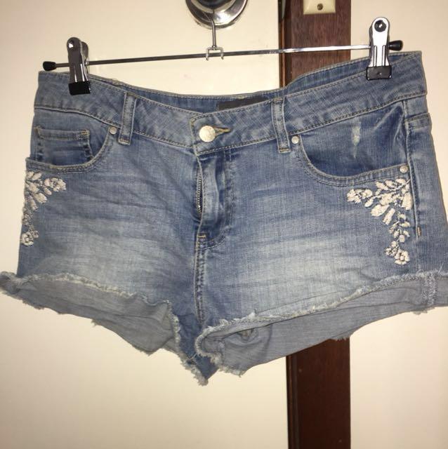 Forever New denim shorts
