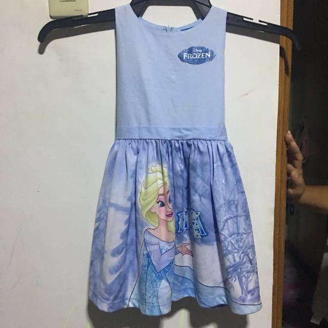 Frozen Baby Dress