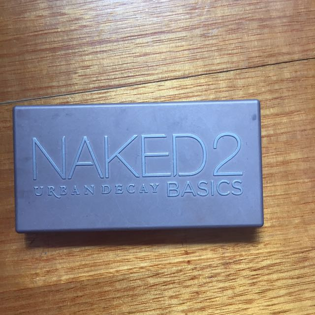 Genuine Naked palette 2 Nudes urban decay