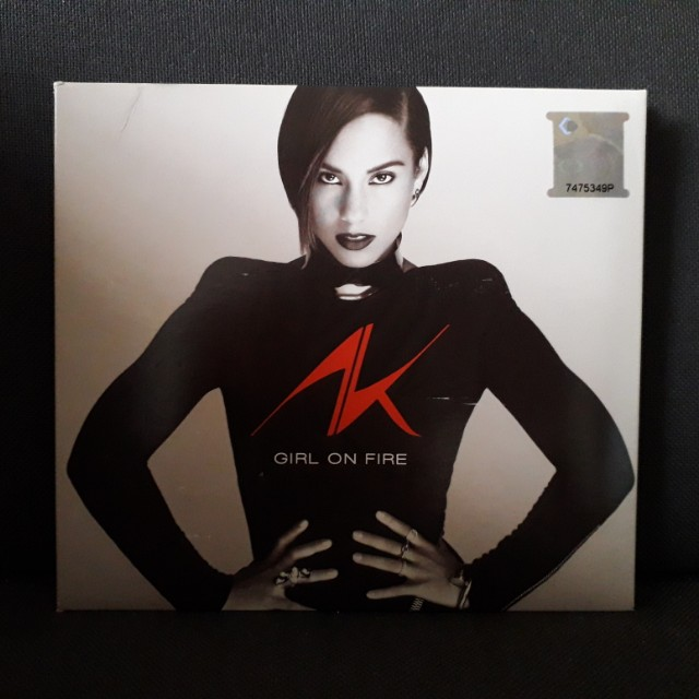 Girl On Fire Album ~ Alicia Keys CD