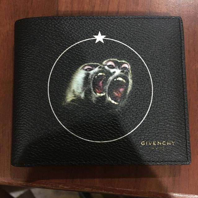 Givenchy monkey brothers wallet