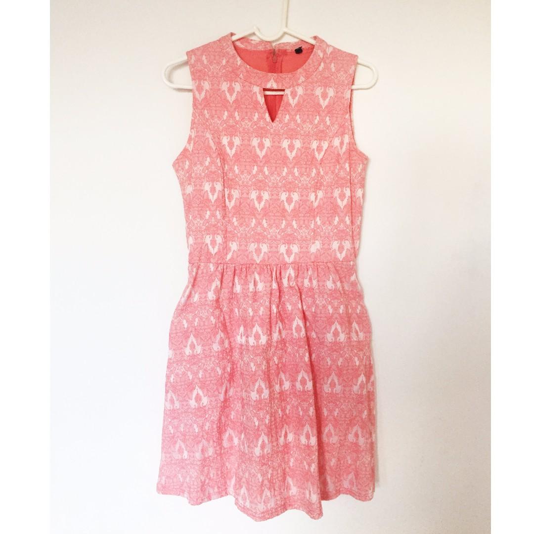 Gothic pattern dress