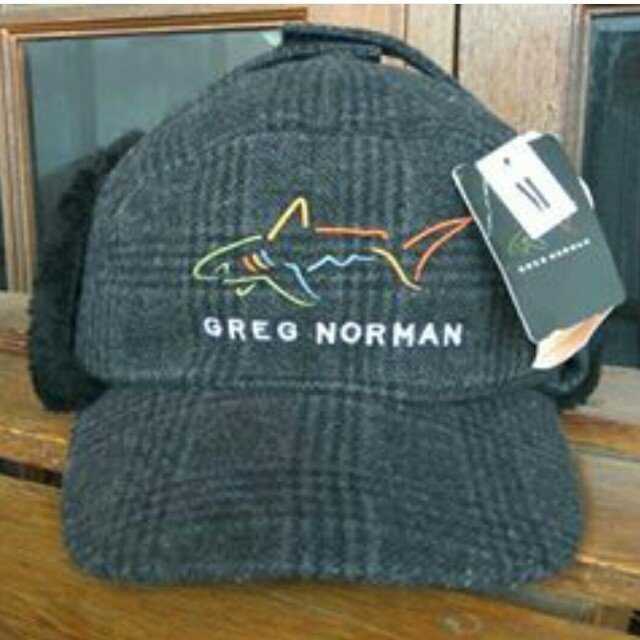 GREG NORMAN Shark W/ Ear Flaps Hat