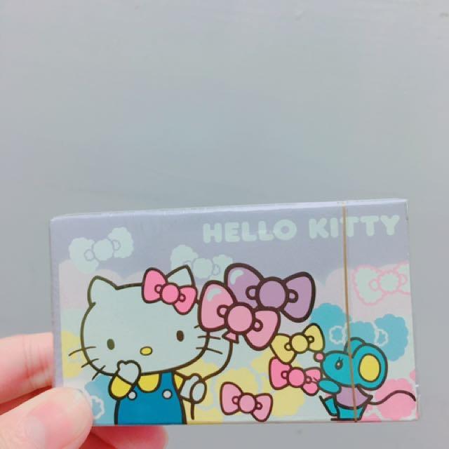 長榮航空HELO KITTY機上撲克牌