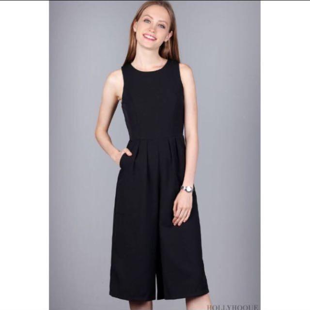 2a0a26fd12c Hollyhoque Casual Jumpsuit Black