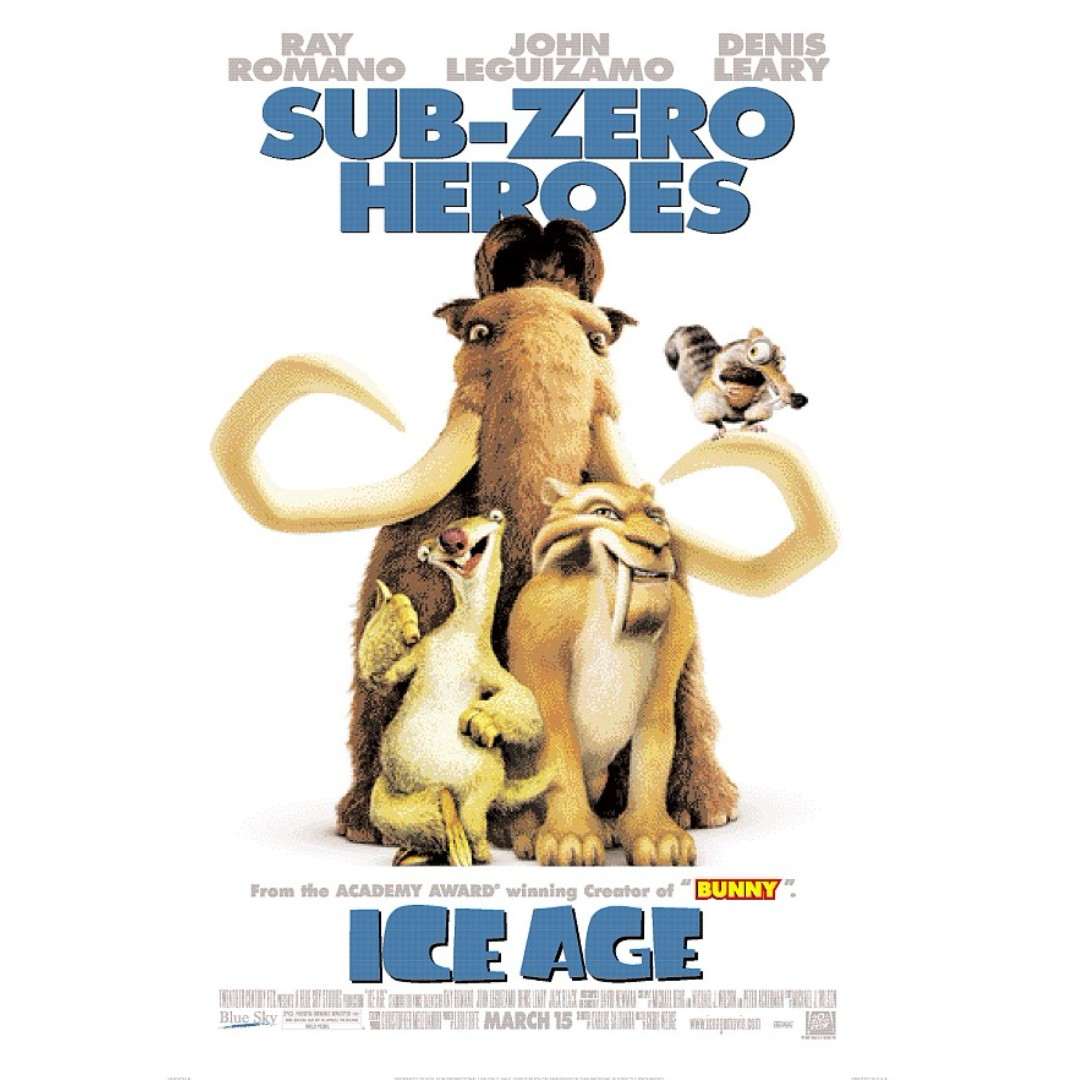 Ice Age 1-2 & 4 VCDs