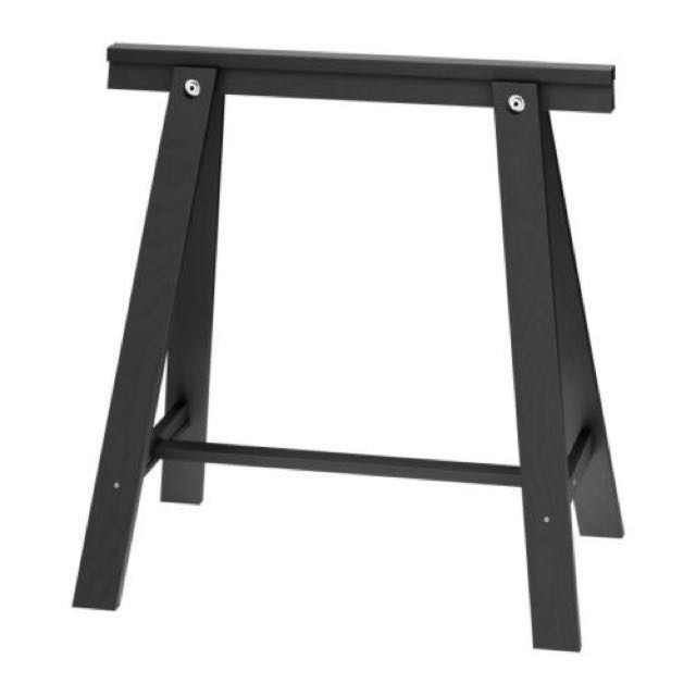 IKEA Oddvald Trestle (set of 2), Black