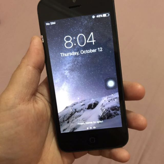 Iphone 5 32 gb Space Gray