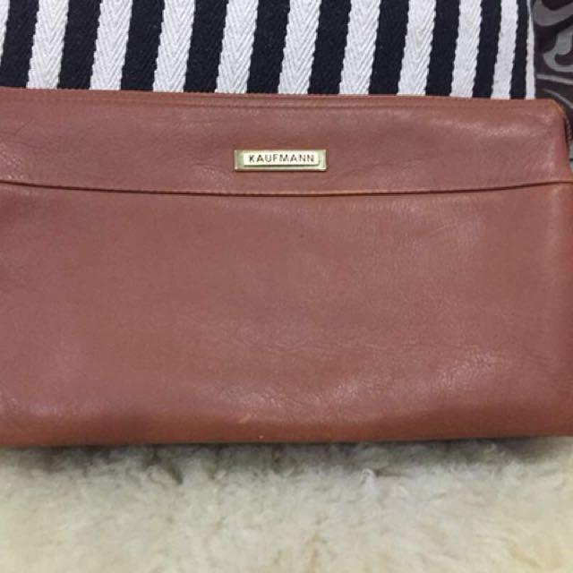 Kaufmann Leather Bag