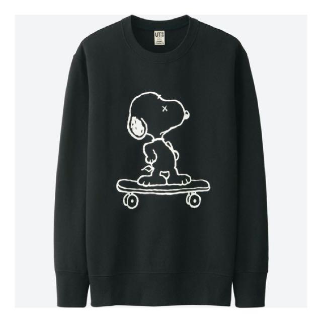 KAWS x Peanuts for UNIQLO Pullover