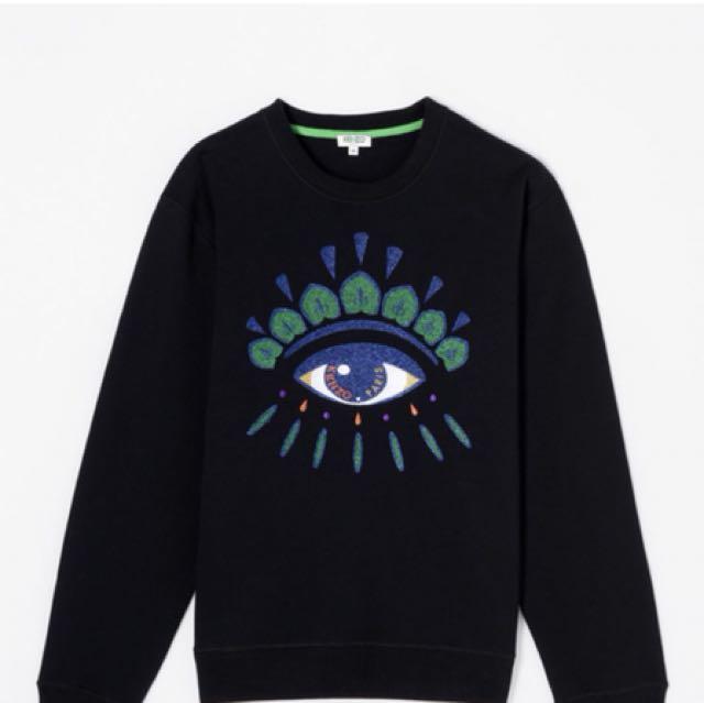 aa7dca8658d9 KENZO Eye sweatshirt X'mas edition, Men's Fashion, Clothes on Carousell