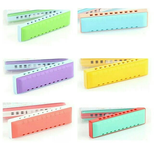 Kids Harmonica 10 Holes - key of C Harmonica (Mouth Organ)