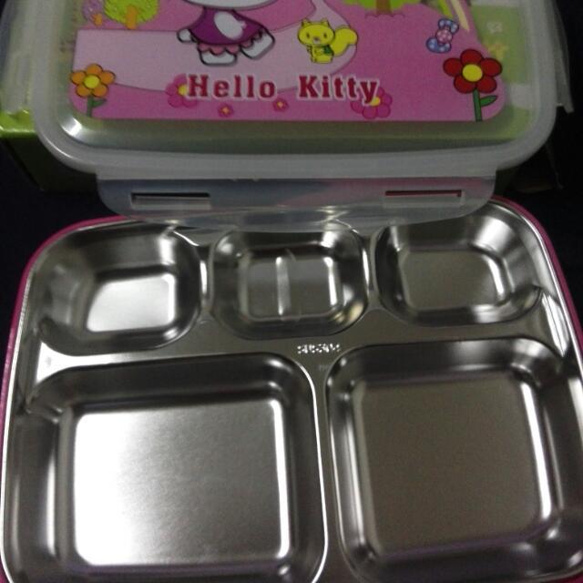 Kitty 分格餐盒