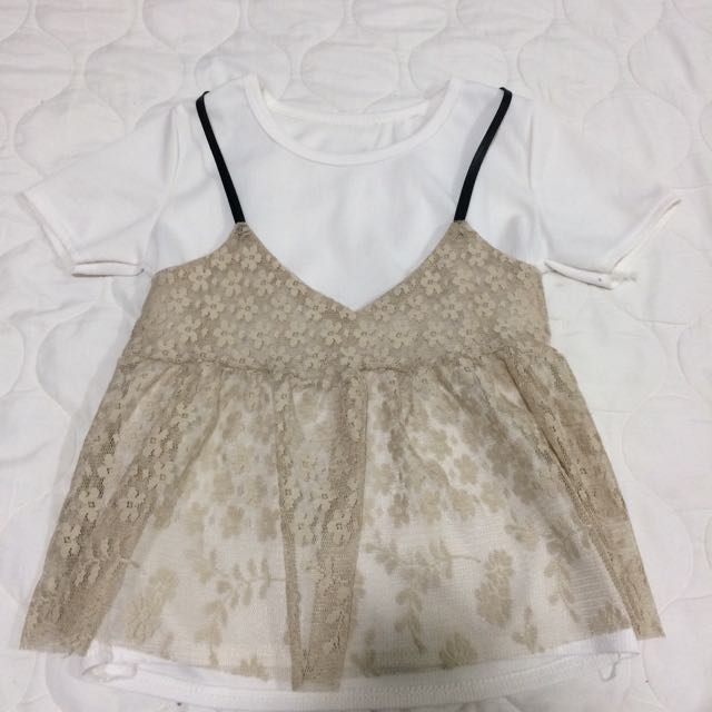 Lace Top (2in1)