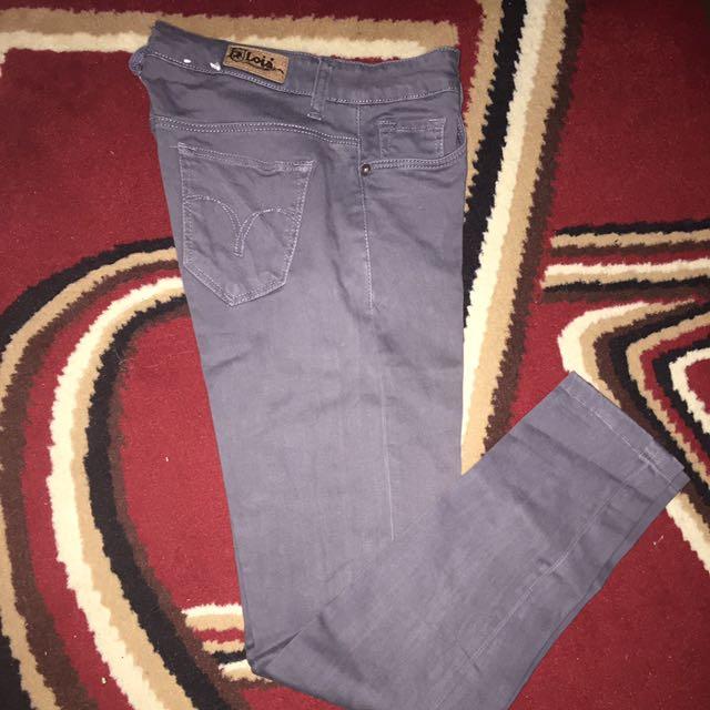 Lois jeans abu abu